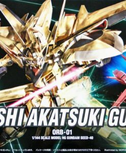 HG SEED Oowashi Akatsuki Gundam