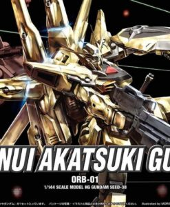 HG SEED Shiranui Akatsuki Gundam