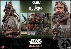Mandalorian Kuiil Blurgg Sixth Scale Figure Set