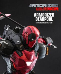 Armorized Warrior Deadpool Sixth Scale Figure CMS