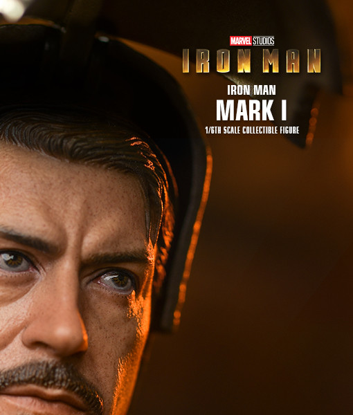 Iron Man Mark I Sixth Scale Figure DIECAST MMS