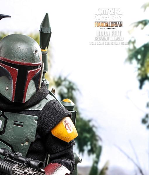Mandalorian Boba Fett Repaint Armor TMS