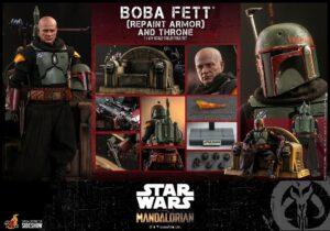 Mandalorian Boba Fett Repaint Armor Throne TMS