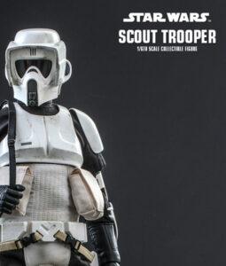 Star Wars Scout Trooper Sixth Scale Figure MMS