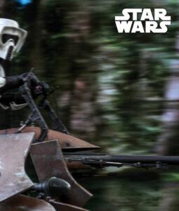 Star Wars Scout Trooper Speeder Bike Action Figure MMS