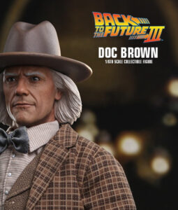 BTTF3 Doc Brown Sixth Scale Figure MMS