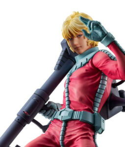 Char Aznable Normal Suit GGG Statue