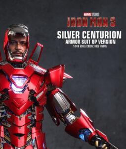 Silver Centurion Armor Suit Up Sixth Scale Figure
